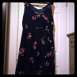 Little blue dress, Old Navy